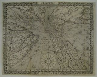 [Sundial Projection World Map]. Franz RITTER.