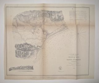 Preliminary Sketch of Santa Barbara, California. A. D. BACHE.