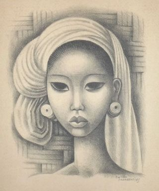 Study for 'Ball Beauty']. Miguel COVARRUBIAS