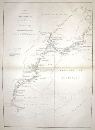 Sketch of a Journey from Hang-Tchoo-Foo to Quang-Tchoo-Foo or Canton in China. Sir George Leonard STAUNTON, John BARROW.