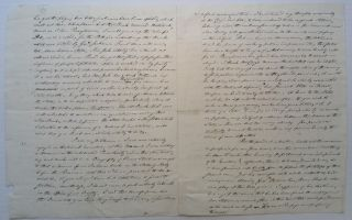 Autographed Letter Signed to U.S. Whig Congressman Joseph Reed Ingersoll