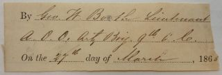 Clipped Signature with Rank. George W. BOOTH