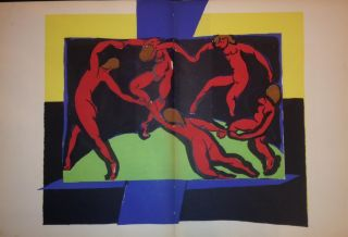 "[COLOR LITHOGRAPH] ""La Danse / The Dance"" Henri MATISSE."