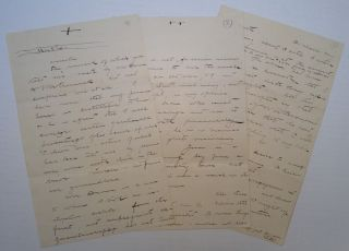 Two Autographed Letters Signed. NEW MEXICO TERRITORY