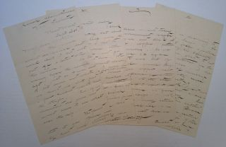 Two Autographed Letters Signed