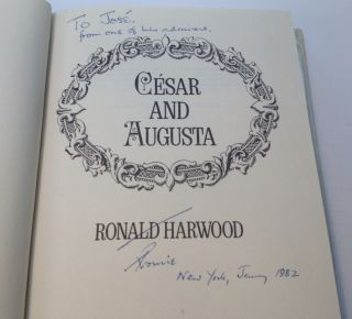 Cesar and Augusta. Ronald HARWOOD