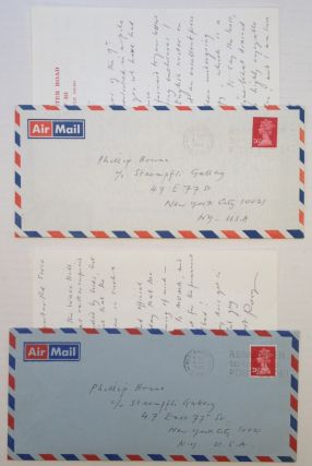 Three Autographed Letters Signed