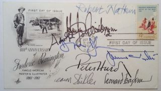 Signed 1st Day Cover