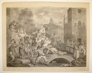 Chairing the Members, Plate 4. William HOGARTH