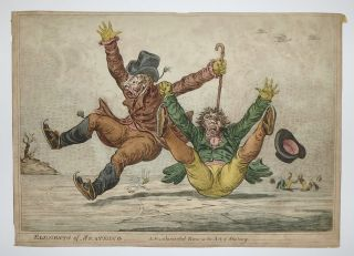 Elements of Skateing. A Fundamental Error in the Art of Skateing. James GILLRAY