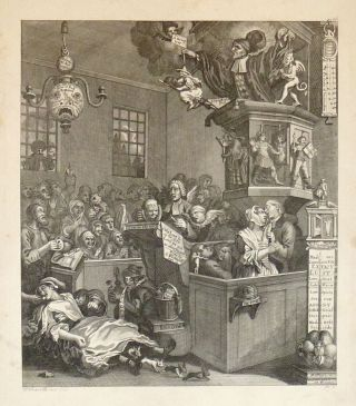 Credulity, Superstition and Fanaticism. Ernst Ludwig RIEPENHAUSEN, William after HOGARTH