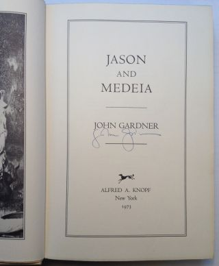 Jason and Medeia. John GARDNER