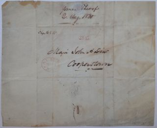 Autographed Letter Signed to a future Civil War general and politician