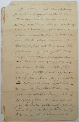 Autographed Document Signed about Government Land. Elbridge GERRY, 1744 - 1814.