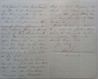 "Autographed Letter Signed on ""Headquarters Army of the United States"" letterhead"