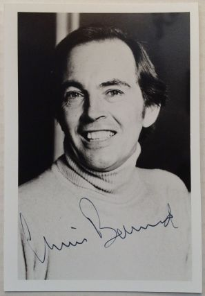 Signed Photograph. Christiaan BARNARD, 1922 - 2001.