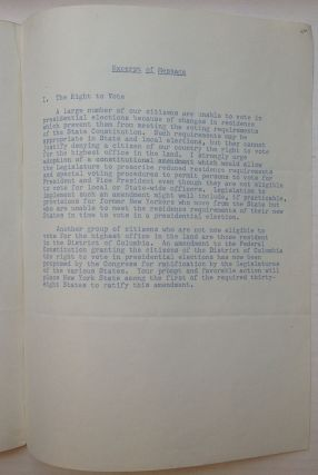 "Typed Letter Signed ""Nelson"" on official letterhead"