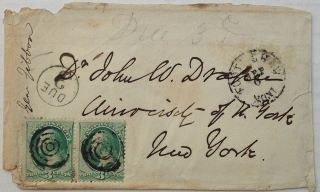 Handwritten Envelope. John GIBBON, 1827 - 1896