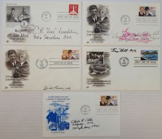 Collection of 11 signed aviation First Day Covers