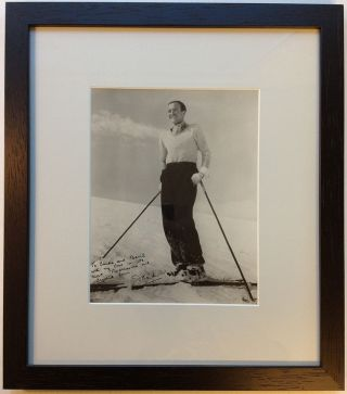 Framed Inscribed Photograph. David NIVEN, 1910 - 1983.