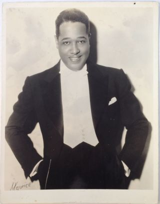 Early Promotional Photograph. Duke ELLINGTON, 1899 - 1974.