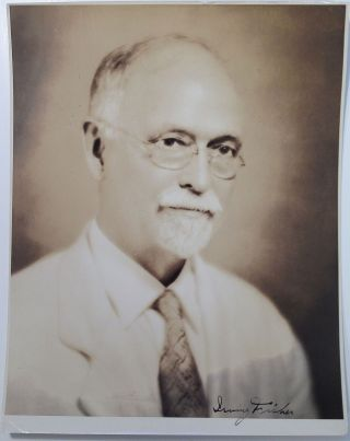 Signed Photograph. Irving FISHER, 1867 - 1947.