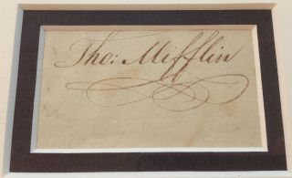 Clipped Signature Framed with a Portrait