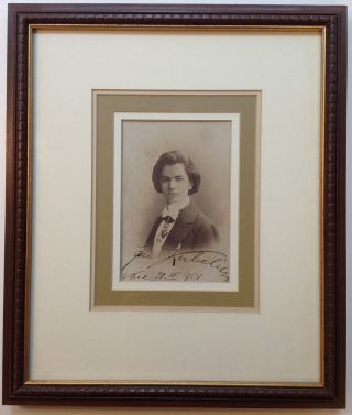 Framed Signed Photograph. Jan KUBELIK, 1880 - 1940