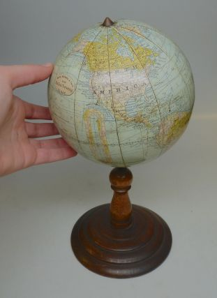 New Six Inch Terrestrial Globe. RAND MCNALLY, CO