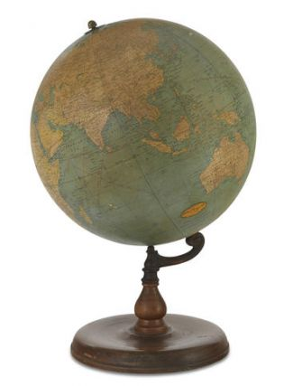 Official R.E. Byrd Globe. George F. CRAM
