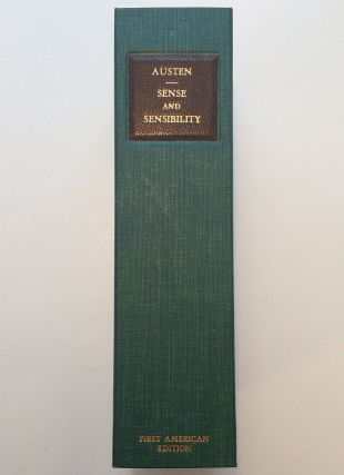 Sense and Sensibility: A Novel. Jane AUSTEN.