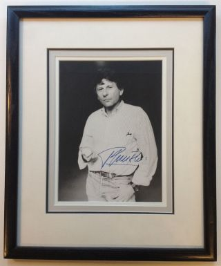 Framed Signed Photograph. Roman POLANSKI, 1933