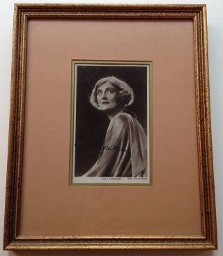 Framed Signed Photograph. Sybil THORNDIKE, 1882 - 1976