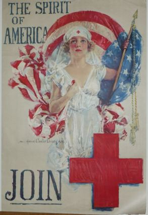 The Spirit of America - JOIN. Howard Chandler CHRISTY.