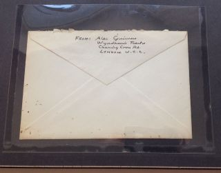 Framed Autographed Letter Signed on personal stationery
