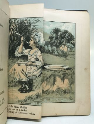 The Old Fashioned Mother Goose's Melodies, Complete With Magic Colored Pictures