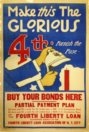Make This The Glorious 4th: Furnish the Fuse; Buy Your Bonds Here. Spencer WRIGHT