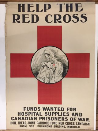 Help the Red Cross; Funds wanted for hospital supplies and Canadian prisoners of war. A. G. RACEY