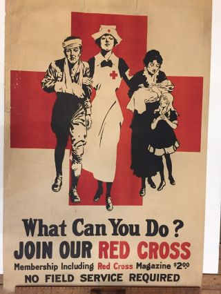 What Can You Do? Join Our Red Cross. ANONYMOUS