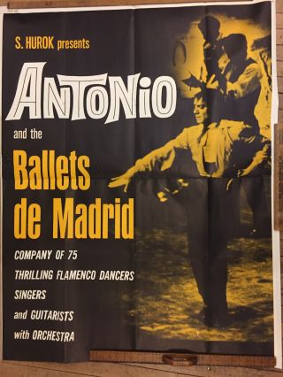 S. Hurok presents Antonio and the Ballets de Madrid. ANONYMOUS.