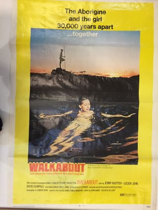Walkabout Movie Poster