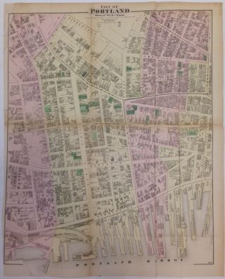 City of Portland, Parts of 5th, 6th, and 7th Wards. Frederick W. BEERS.