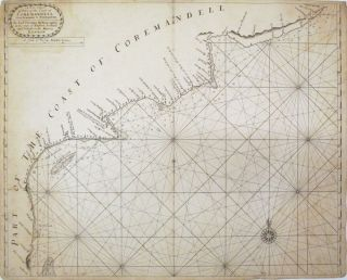 A New Chart of Part of the Coast of Coremandell from Armegon to Bimlepatam. Samuel THORNTON