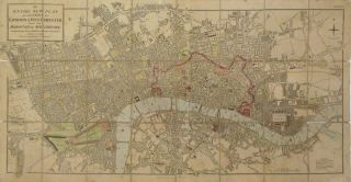An Entire New Plan of the Cities of London & Westminster with the Borough of Southwark:...