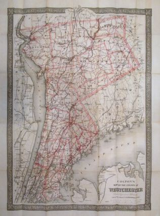 Colton's Map of the County of Westchester. G. W. COLTON, C B.