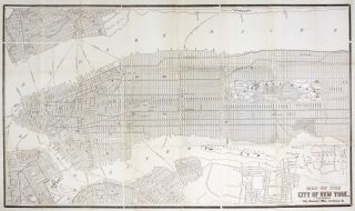 Map of the City of New York. CITY DIRECTORY OFFICE.