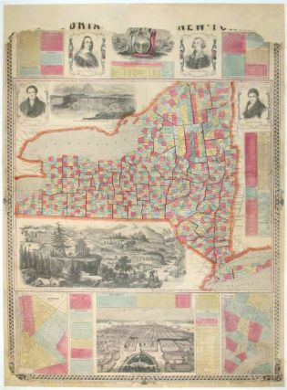 Pictorial New-York. BRIDGMAN ENSIGN, FANNING.