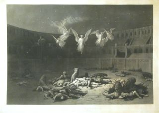 Christian Martyrs; Reign of Diocletian Rome A.D. 303. GUSTAV P. DORE