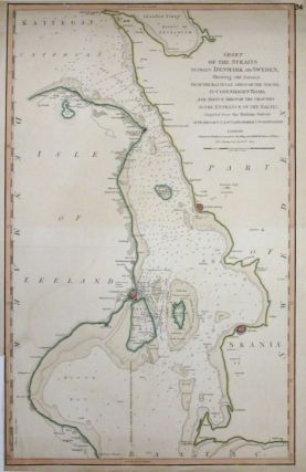 Chart of the Straits between Denmark and Sweden, Shewing the Passage from the Kattegat through...