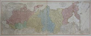 The European Part of the Russian Empire, from Maps Published by the Imperial Academy at St. Petersburg, with the New Provinces on the Black Sea. Thomas KITCHIN.